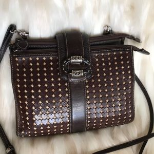 BRIGHTON Leather bag hearts